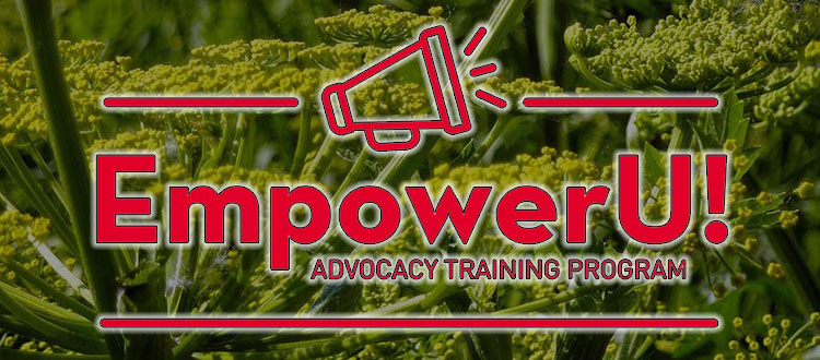 Ad promoting the EmpowerU! class