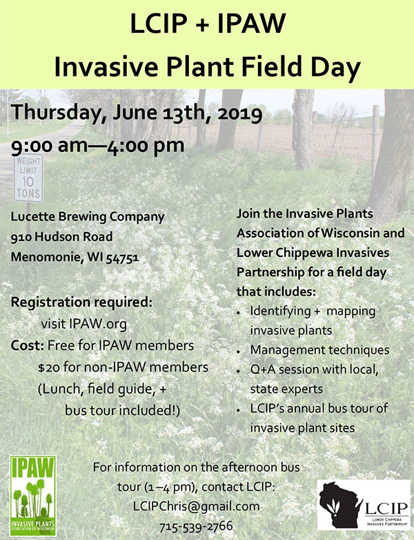 2019 IPAW LCIP Field Day Details